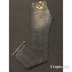 JUICY COUTURE TWIGGY JEANS.